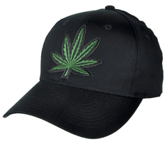Marijuana Pot Leaf Hat Baseball Cap Alternative Clothing Stoner Skater