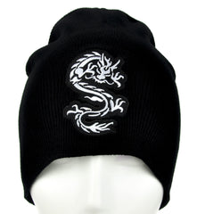 Chinese Bruce Lee Dragon Beanie Alternative Clothing Knit Cap Martial Arts