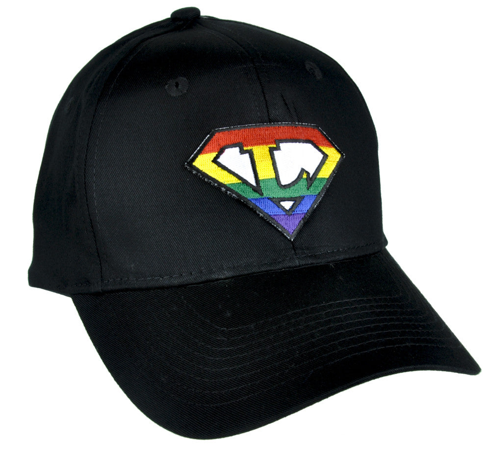 Rainbow Super L Pro Lesbian Hat Baseball Cap Alternative Gay Pride Clothing