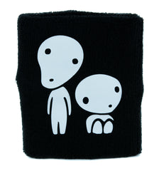 Kodama Tree Spirit Wristband Sweatband Alternative Anime Clothing Princess Mononoke