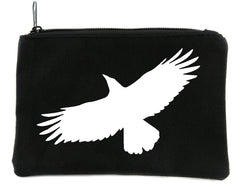 Mystical Raven Cosmetic Makeup Bag Alternative Gothic Accessories