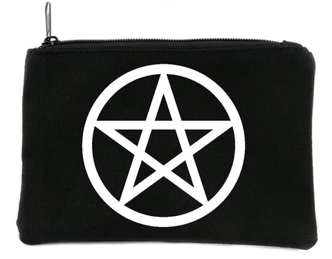 Wicca Ritual Pentagram Cosmetic Makeup Bag Alternative Witchcraft Accessories