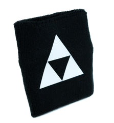 Legend of Zelda Triforce Symbol Wristband Sweatband Alternative Clothing Triangle Link
