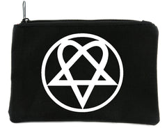Heartagram HIM Cosmetic Makeup Bag Ville Valo Gothic Metal Accessories