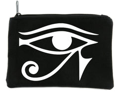 Egyptian God Eye of Ra Horus Cosmetic Makeup Bag Alternative Cosplay
