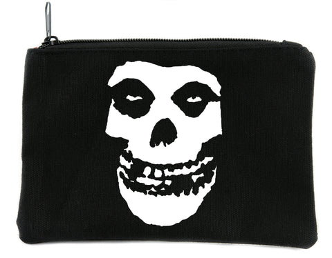 Psychobilly Deathrock Misfits Skull Cosmetic Makeup Bag Alternative Accessories