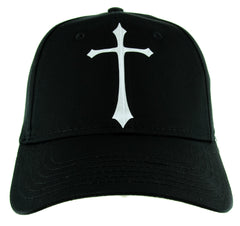 Medieval Holy Gothic Cross Hat Baseball Cap Deathrock Alternative Clothing Snapback