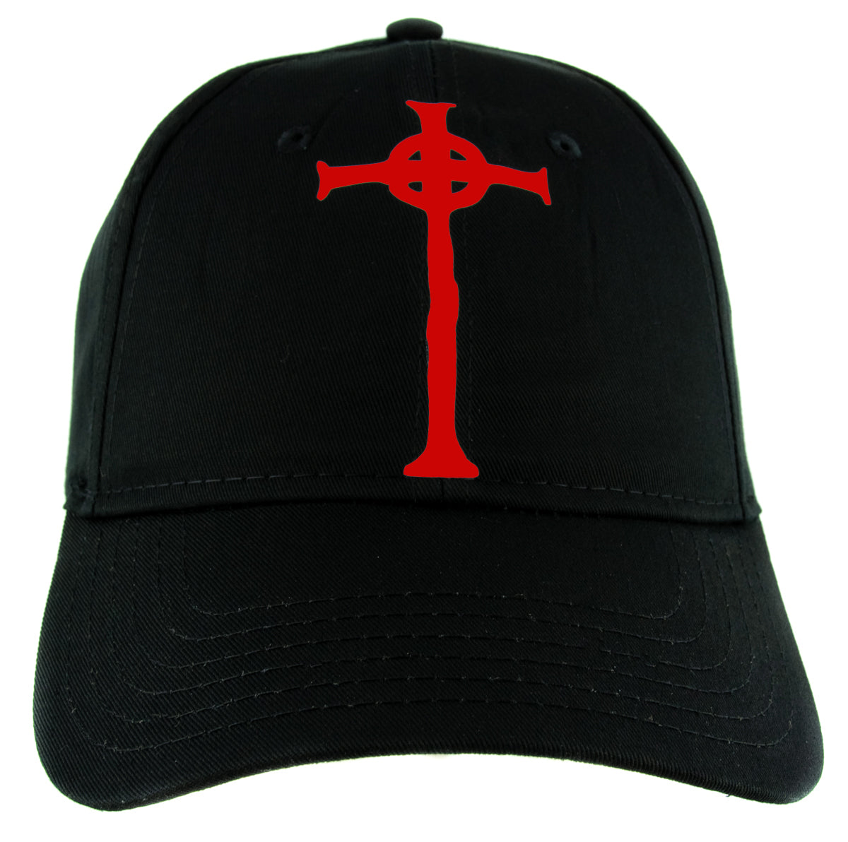 Red Vampire Hunter D Cross Tombstone Hat Baseball Cap Anime Alternative Clothing Snapback