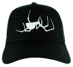 Spooky Crawling Black Widow Spider Hat Baseball Cap Gothic Alternative Clothing Snapback