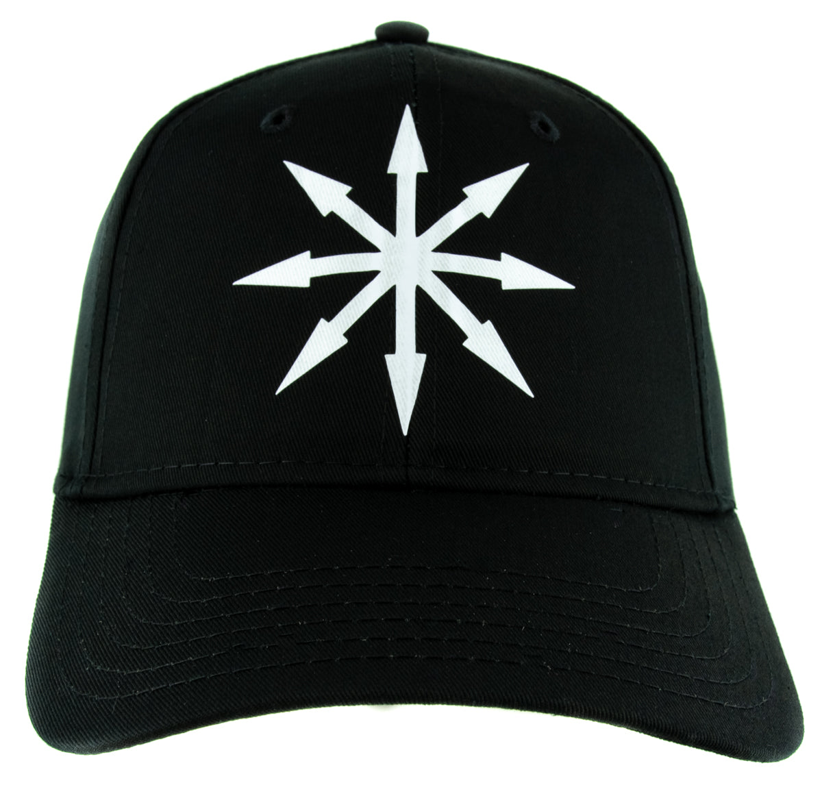 Chaos Star Symbol of Eight Hat Baseball Cap Warhammer Occult Alternative Clothing Snapback