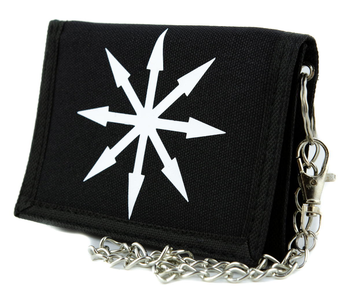 Chaos Star Symbol of Eight Tri-fold Wallet Warhammer Alternative Clothing