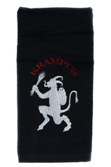 Gruss Vom Krampus Hand Towel Kitchen and Bath Bad Santa Gothic Home Decor