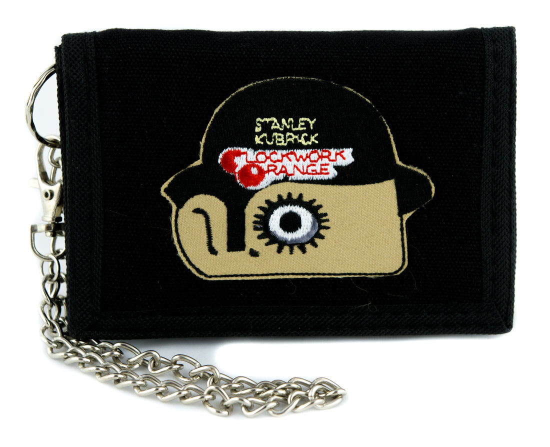A Clockwork Orange Tri-fold Wallet Alternative Clothing Punk Rock Stanley Kubrick