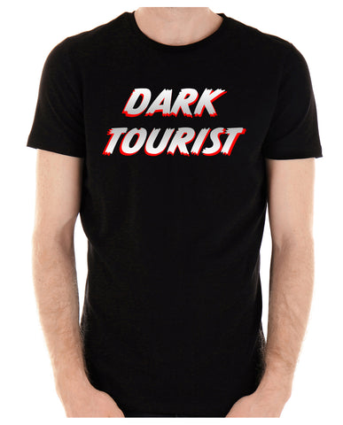 Dark Tourist T-Shirt Black Death Grief Tourism Alternative Clothing Thanatourism