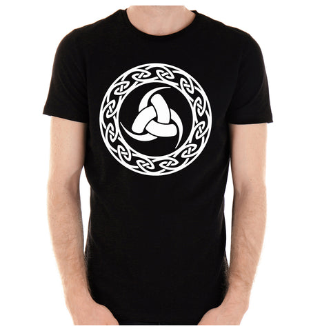 The Triple Horn of Odin T-Shirt Alternative Clothing Viking Triskelion Mythology