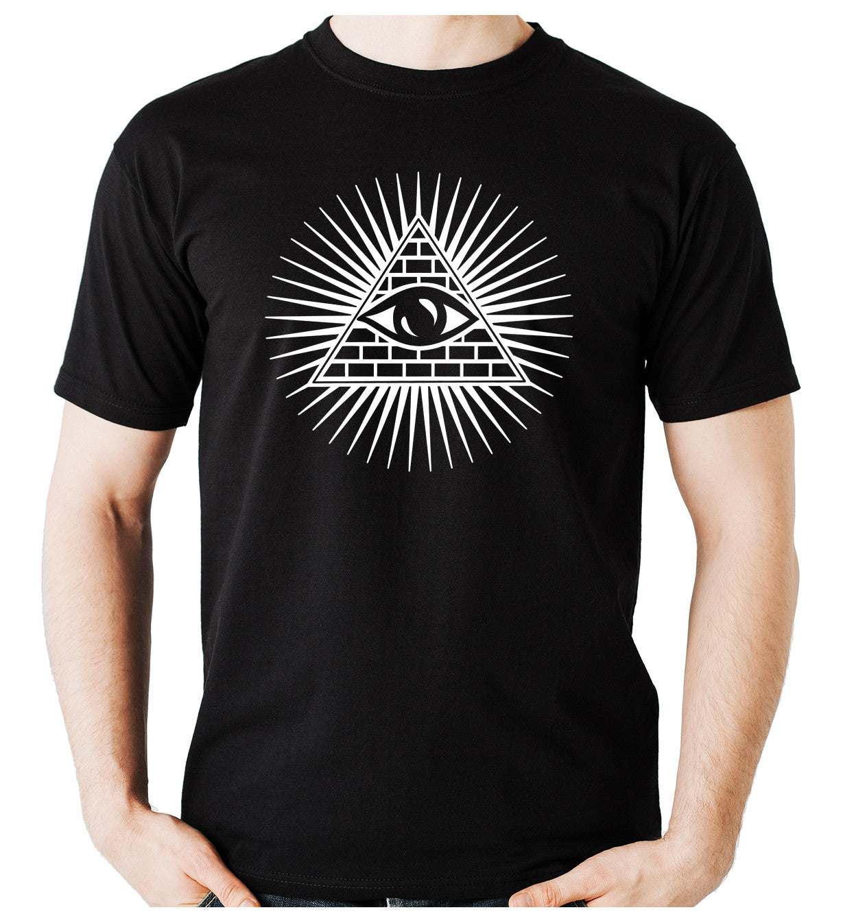 Illuminati Secret Society T-Shirt Alternative Clothing The Order of the Day Freemasonry