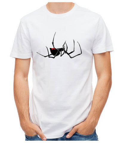Black Widow Spider T-Shirt Alternative Clothing Creepy Horror Halloween Gothic