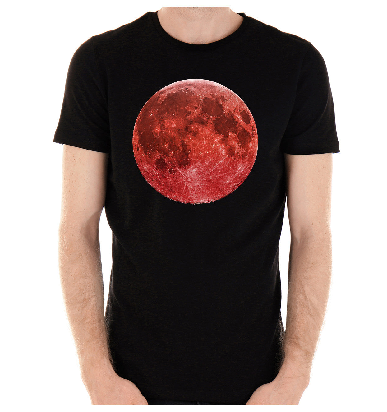 Red Full Blood Moon T-Shirt Alternative Clothing Prophecies of End Times