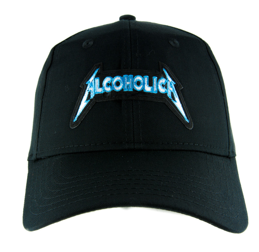 Alcoholica Metallica Spoof Hat Baseball Cap Alternative Clothing Heavy  Metal Music 871415288ffc