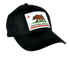 California Flag Bear Hat Baseball Cap Alternative Clothing So Cal Pride