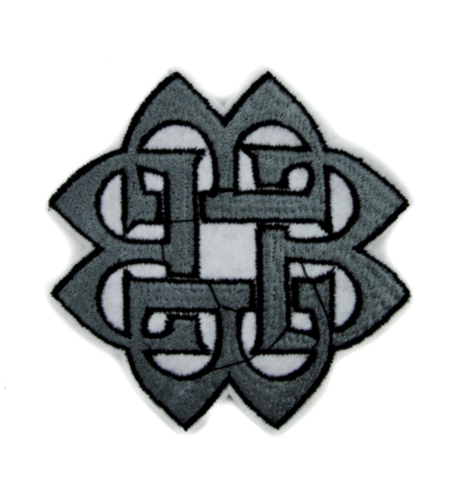 Eternal Life Celtic Knot Patch Iron on Applique Alternative Clothing