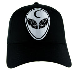Witchcraft Alien Crescent Moon Hat Baseball Cap Alternative Clothing Astrology