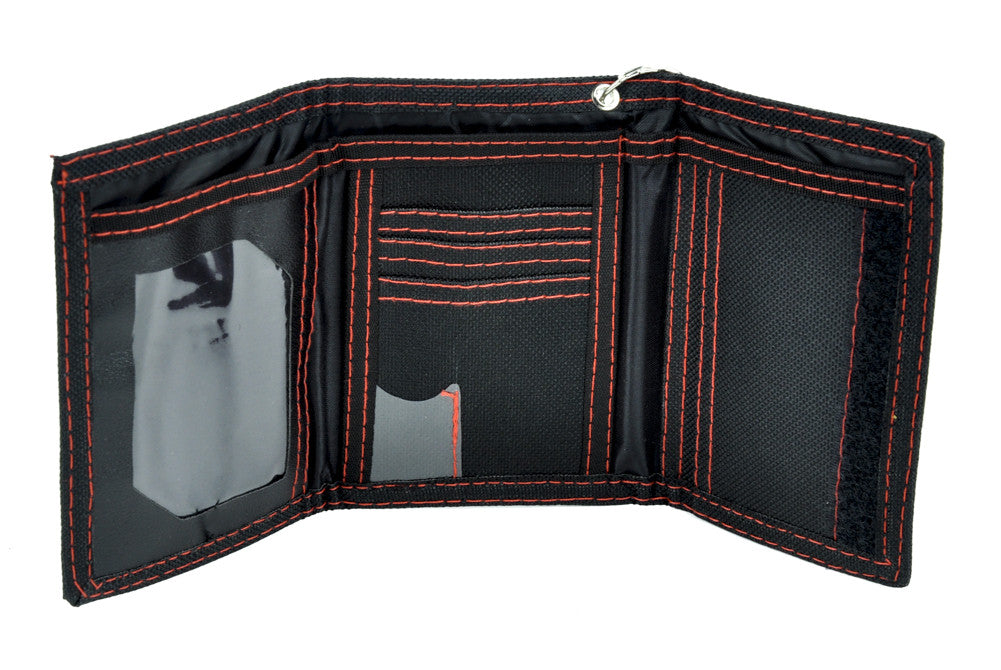 Hecho En Mexico Tri-fold Wallet with Chain Alternative Clothing