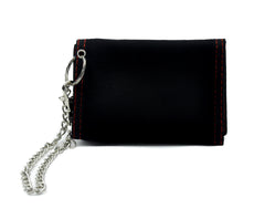 Bitch Tri-fold Wallet with Chain Alternative Clothing Bad Girls Club