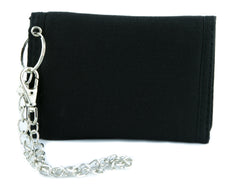 Number Thirteen Lucky 13 Tri-fold Wallet Gothic Blood Drip Style Alternative Clothing