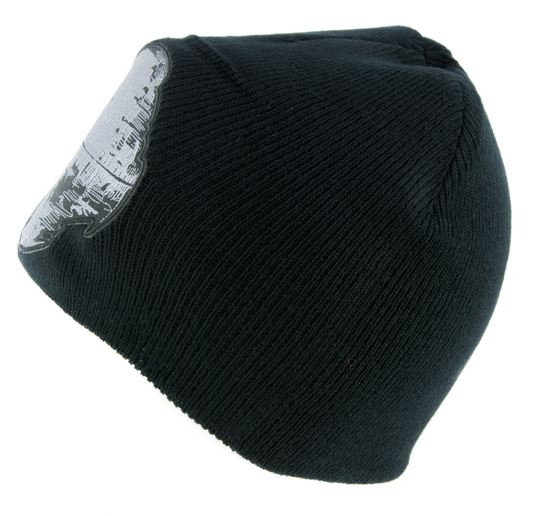 Death Star Under Construction Beanie Knit Cap Alternative Clothing Star Wars Darth Vader