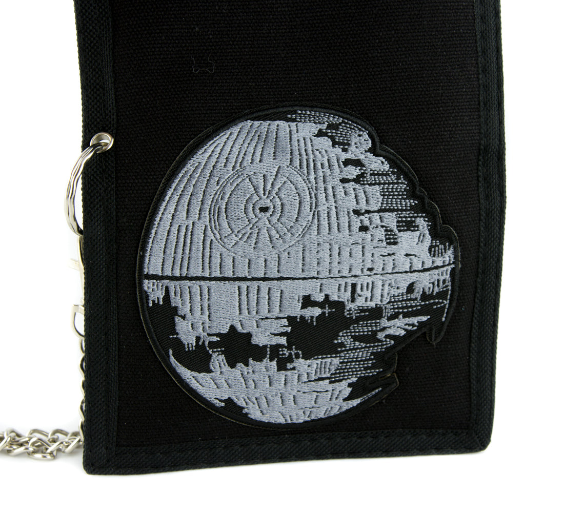 Death Star Rebuilt Tri-fold Wallet Alternative Clothing Star Wars Return of the Jedi