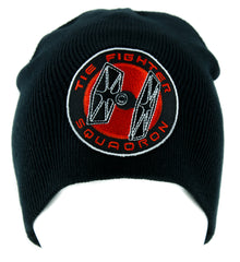 Tie Fighter Squadron Beanie Knit Cap Alternative Clothing Star Wars Darth Vader