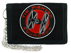Tie Fighter Squadron Tri-fold Wallet Star Wars Alternative Clothing Darth Vader