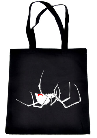 Death Black Widow Spider Tote Bag Alternative Occult Clothing Gothic Arachnid …