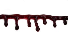 Special Effects Realistic Blood Drip Choker Necklace Halloween Cosplay