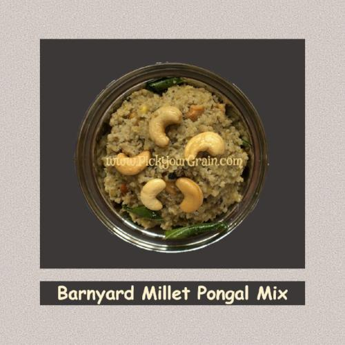 Barnyard Millet Pongal Mix Ready to Cook- PickYourGrain