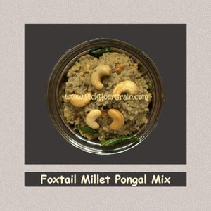 Foxtail Millet Pongal Mix Ready to Cook- PickYourGrain