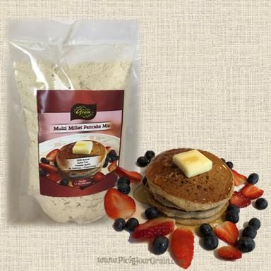 Multi Millet Pancake Mix (GF) Ready to Cook- PickYourGrain