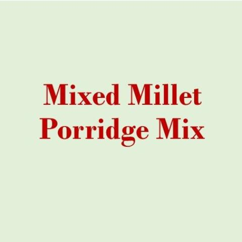 Mixed Millet Porridge Mix Ready to Cook- PickYourGrain