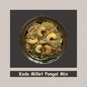 Kodo Millet Pongal Mix Ready to Cook- PickYourGrain