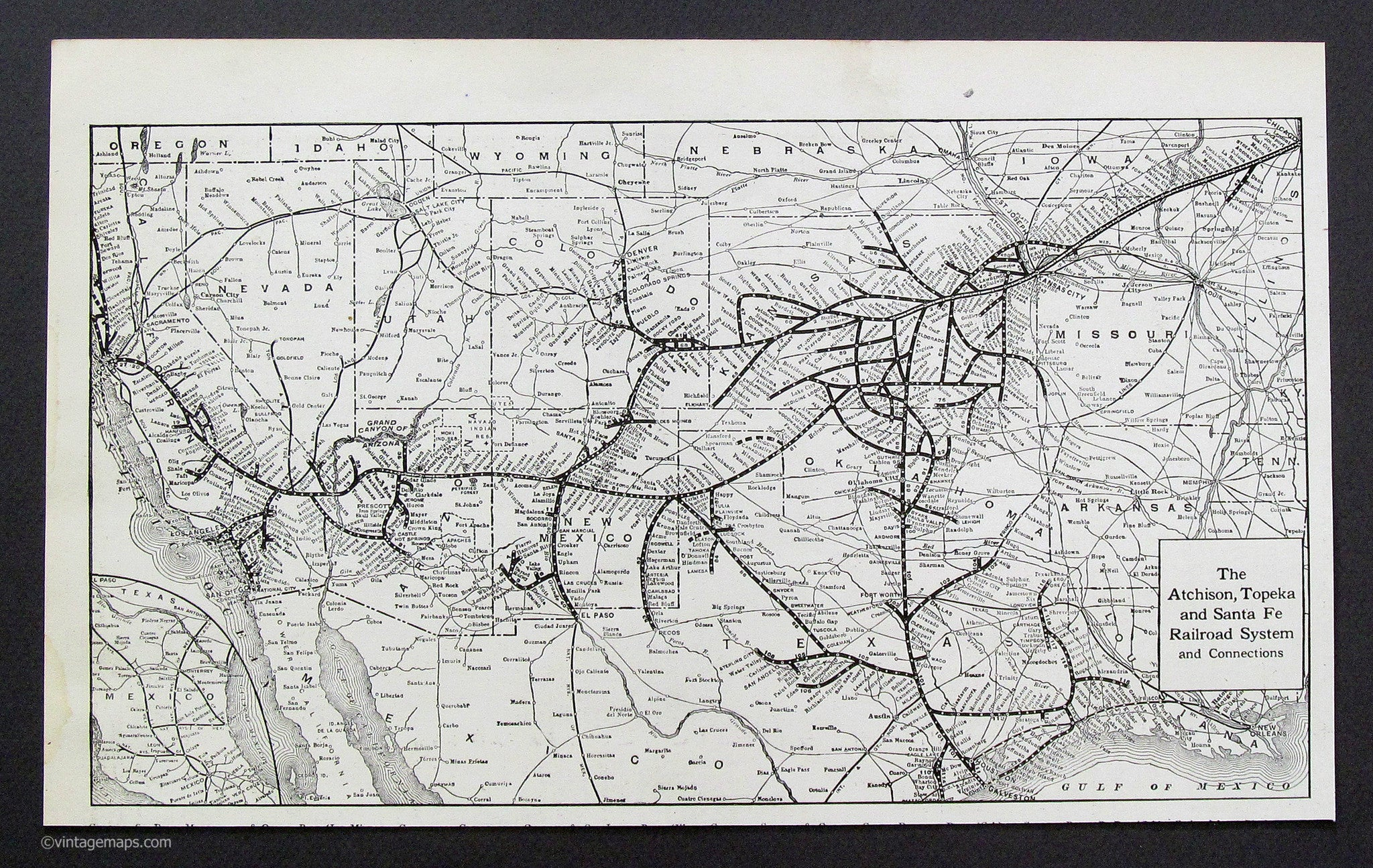 Atchison Topeka and Santa Fe Railroad System 1921 on boca raton on us map, helena on us map, greensboro on us map, madison on us map, pikes peak on us map, knoxville on us map, st. louis on us map, savannah on us map, manchester on us map, natchitoches on us map, pierre on us map, new orleans on us map, los angeles on us map, grand rapids on us map, new york on us map, boise on us map, scottsdale on us map, denver on us map, boulder on us map, san antonio on us map,