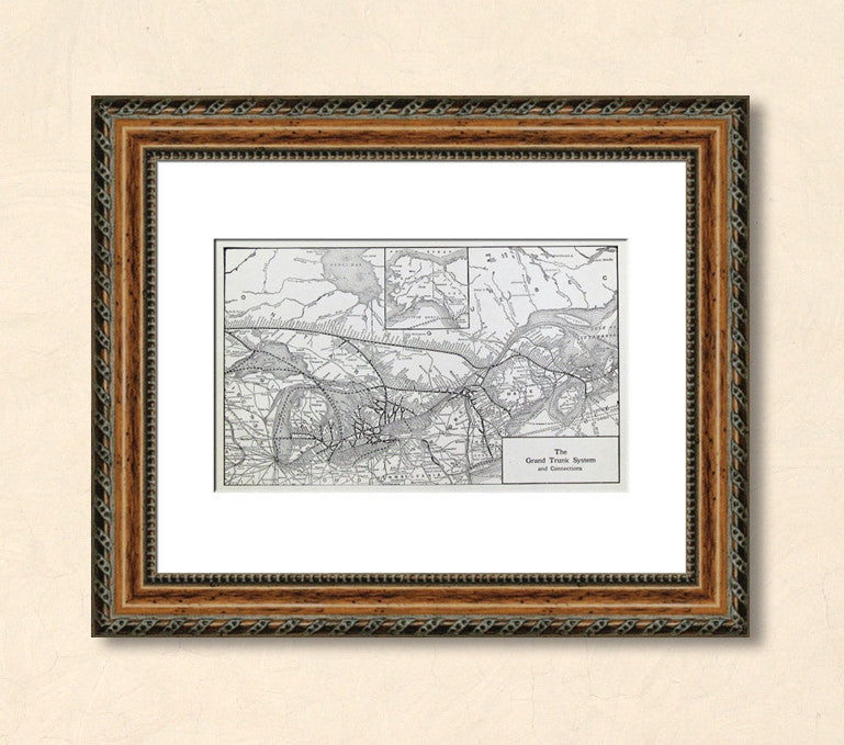 Decorate with Authentic Vintage Maps
