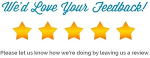 Have a few minutes? Leave us a review!