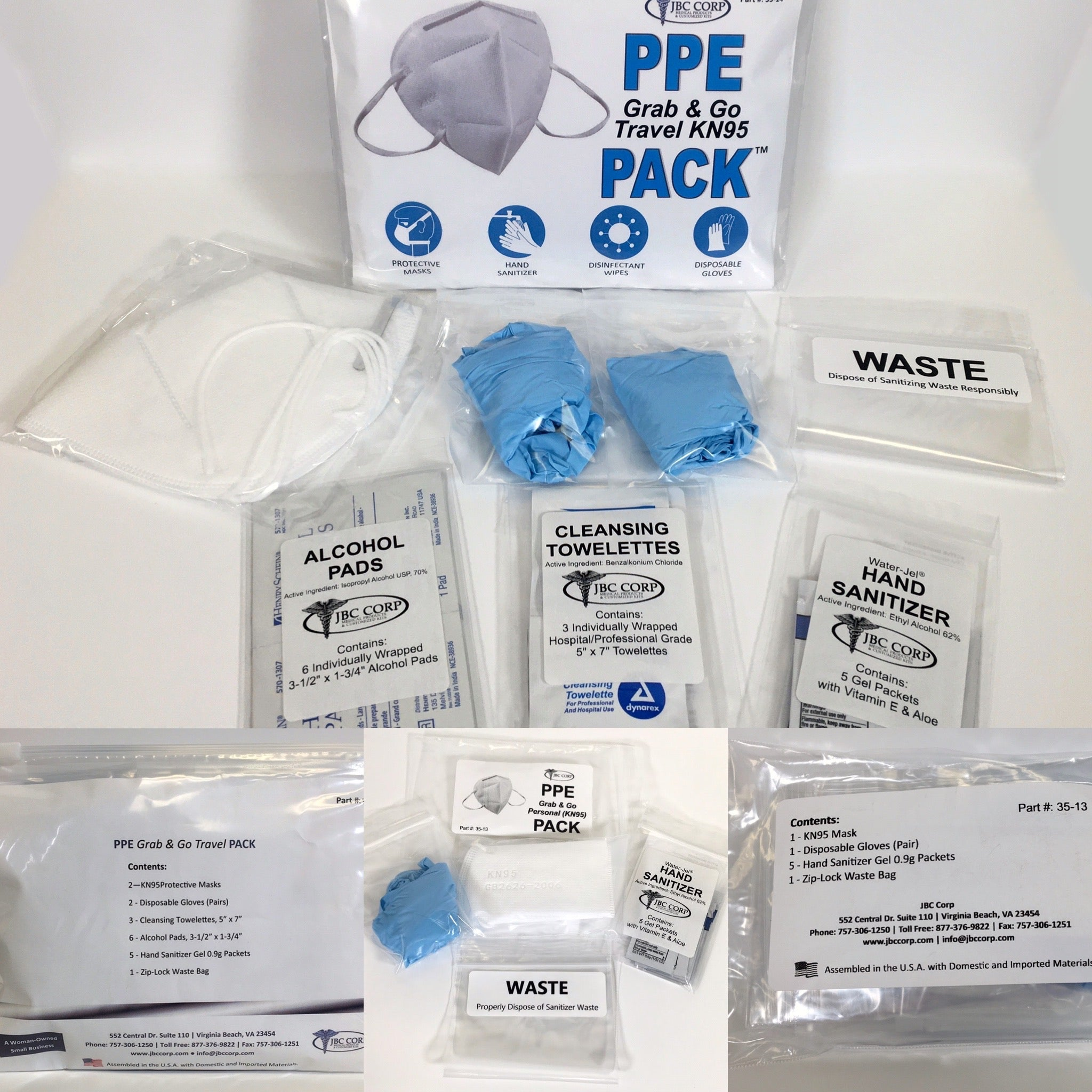 New PPE (Personal Protective Equipment) Kits!