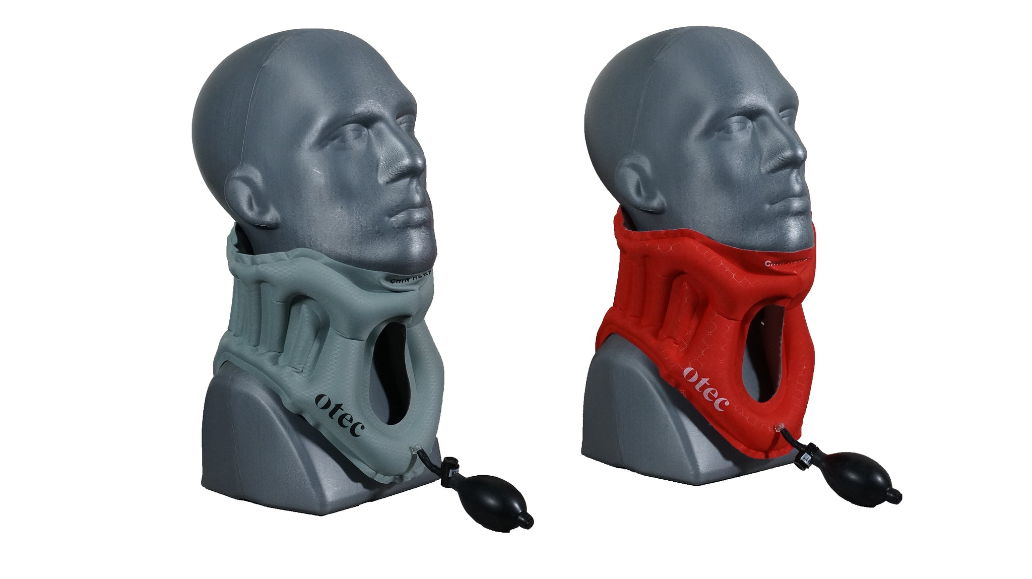 Side view of the AER Cervical Collar inflated