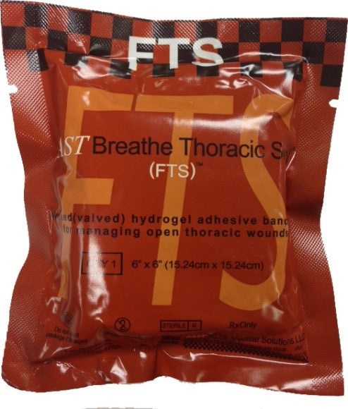 FastBreathe Thoracic Seal show in packaging