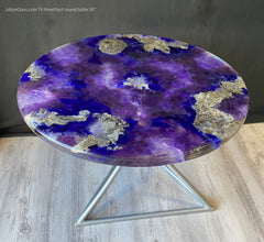 Round table Amethyst T4