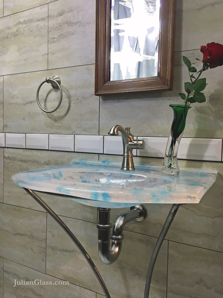 Skyblue Sink