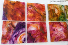 Warm Colors for Julian Glass Tiles