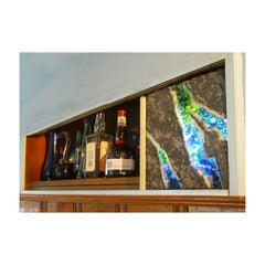 Glass Ore Decorative Bar Panel